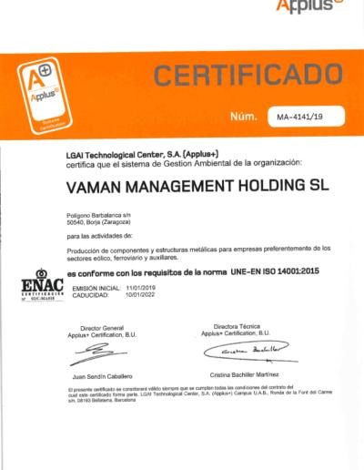 VAMAN-ISO-14001-2015-ES