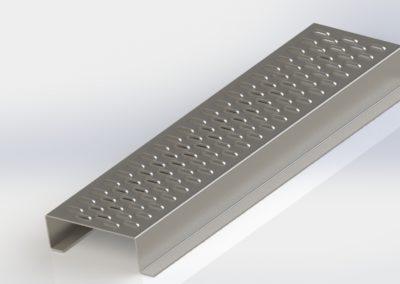 Sistema de aireación de rejilla para silo plano