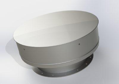 Silomasters cúpula aireación silo metálico