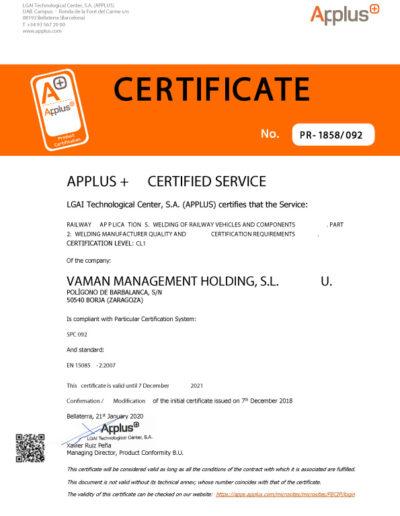 PR-1858-092-M2-VAMAN-MANAGEMENT